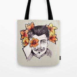 Lilies - Dorian Pavus Tote Bag