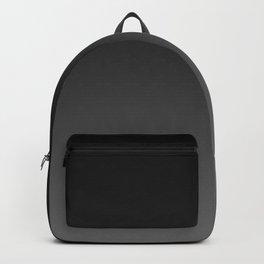 Ombre | Color Gradients | Gradient | Two Tone | Shades of Grey | Dark Grey Black Ombre | Backpack