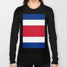 Costa Rica Flag Long Sleeve T-shirt