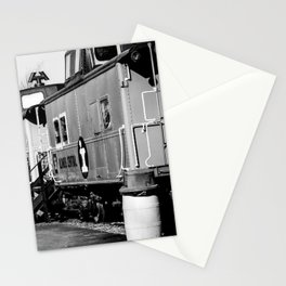 Railroad Cars_BW Stationery Cards