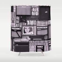 KING OF ROCK IV Shower Curtain