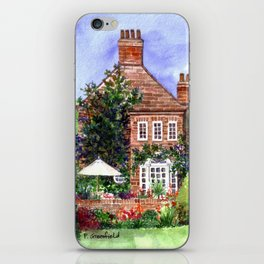 The Manor House iPhone Skin