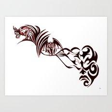 Gargoyles Art Print