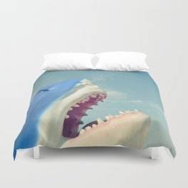 Shark! Duvet Cover