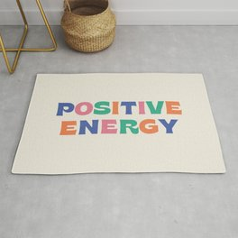 Positive Energy - Colorful Rug