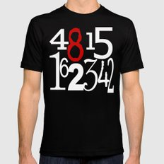 Number 65 Mens Fitted Tee X-LARGE Black