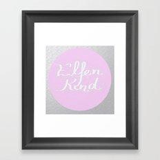 Elfenkind (Child of an Elf) Framed Art Print