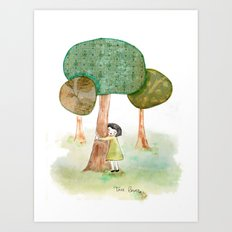 Tree Lover Art Print