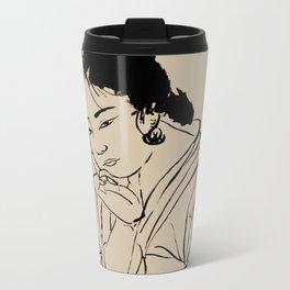 Lady Elegance Metal Travel Mug