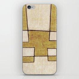 Protoglifo 06 'Mustard traverse cream' iPhone Skin