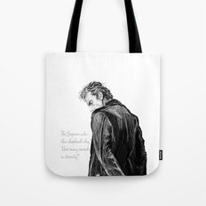 How Many Seconds in Eternity? Tote Bag