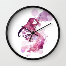 Astral Dancer Wall Clock