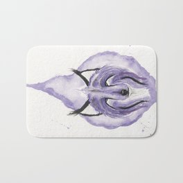 Hitodama the Spirit Wolf. Bath Mat