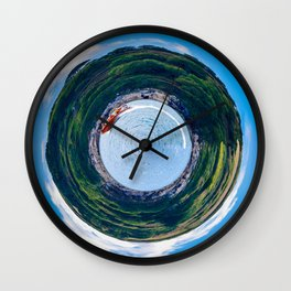 Lifeboat Planet Wall Clock