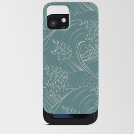 Waves no.01 iPhone Card Case