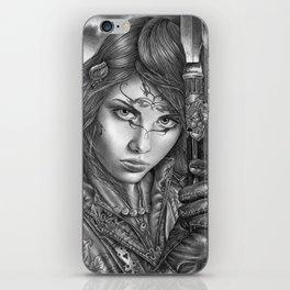 """My Name Is Vengeance"" iPhone Skin"