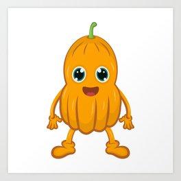 Butternut Squash Pumpkin Art Print