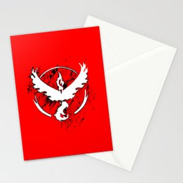 Team Red Stationery Cards