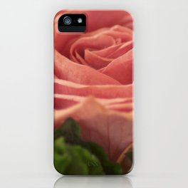 Rose for my wife iPhone Case