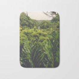 Jungle Waterfall II Bath Mat