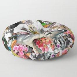 Jungle Melodrama Floor Pillow