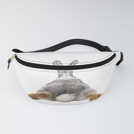 Cute Bunny Rabbit Tail Butt Image Easter Animal Fanny Pack