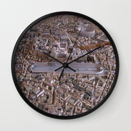Rome in the Time of Constantine Wall Clock