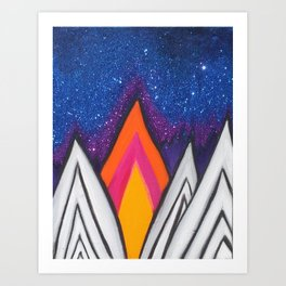 Night Sky #3 Art Print