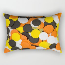 Halloween Party Confetti Rectangular Pillow