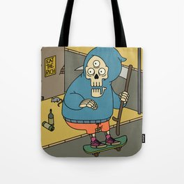 Reapin' Skatin' Chillin' Tote Bag