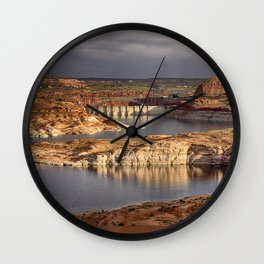 Lake Powell - Arizona Wall Clock