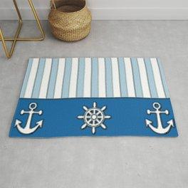 Nautical Stripes Rug