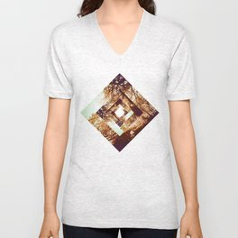 Diamond Design Unisex V-Neck