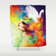 DESIDERIUM Shower Curtain