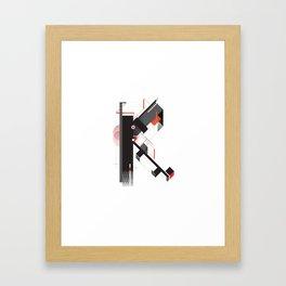 Abstract K Framed Art Print