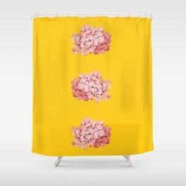 tridrangea Shower Curtain