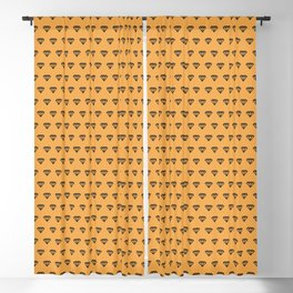 Woodén Light Diamond Pattern Blackout Curtain