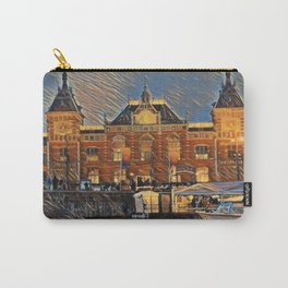 Amsterdam train station Carry-All Pouch