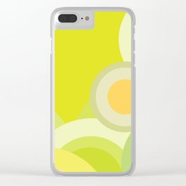 Yellow Lemon - Color of Accessories and Home Style Clear iPhone Case