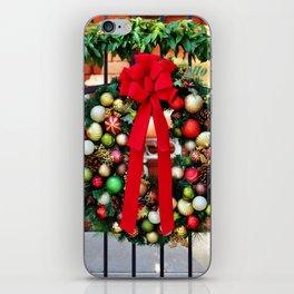 Wreath On The Gate iPhone Skin