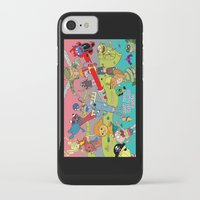 justice league iPhone & iPod Cases featuring Happy Tree Friends Justice League by Kozmanaut