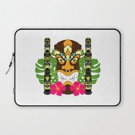 Tiki Statue & Totems Laptop Sleeve