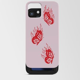 Give Me Butterflies iPhone Card Case