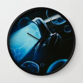 LIGHT  MAN Wall Clock