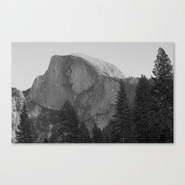 Yosemite Black & White Canvas Print