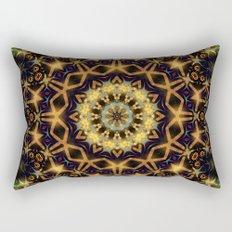 Tribal Energy Batik Mandala  Rectangular Pillow
