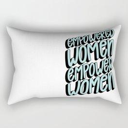 Empower Women Rectangular Pillow