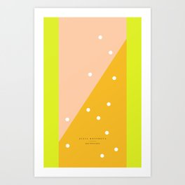 peach - 5c/4s/4 Art Print