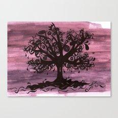 EYE TREE Canvas Print