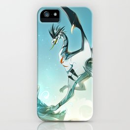 Skyeurosaur - Illustration iPhone Case